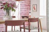 "Maronenrote Stühle ""Betty"" von &tradition"