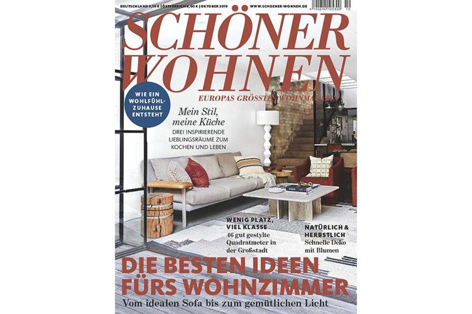 SCHÖNER WOHNEN 9-2019: Cover - Sidebar