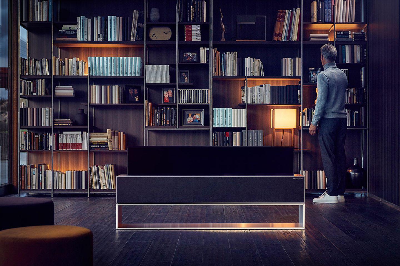 """Ein- und ausfahrbare Fernseher: """"Rollable TV"""" von LG"""