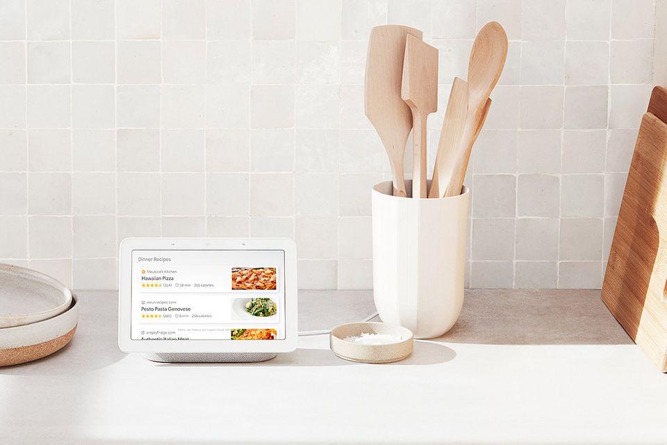 Sprachassistetn mit Bildschirm: Google Nest Hub