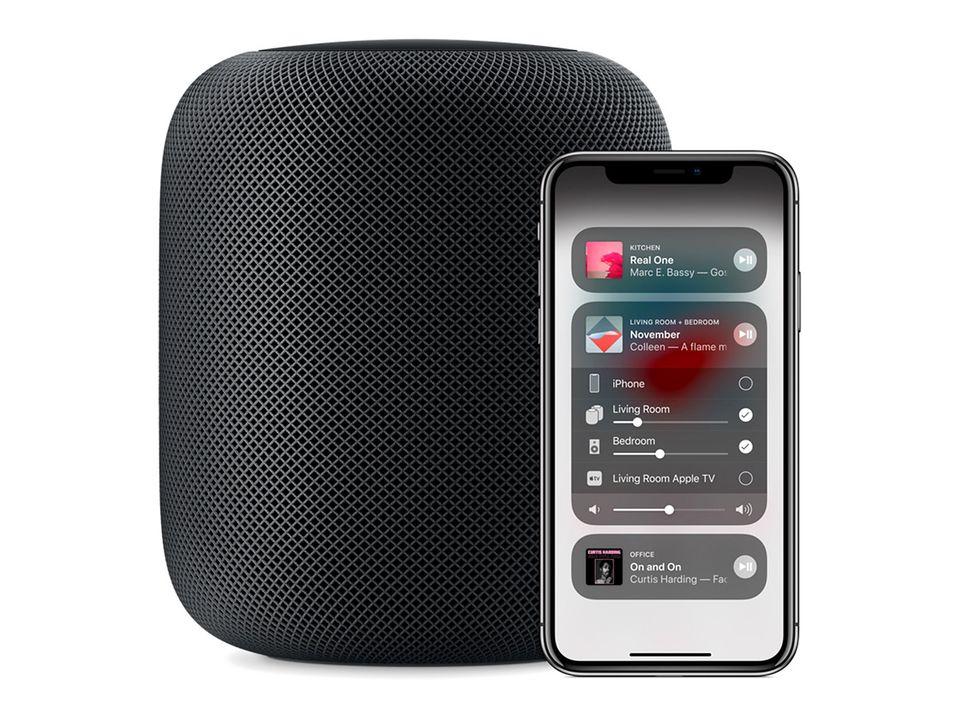 "Sprachassistent: Apples ""Homepod"" mit Siri-Integration"