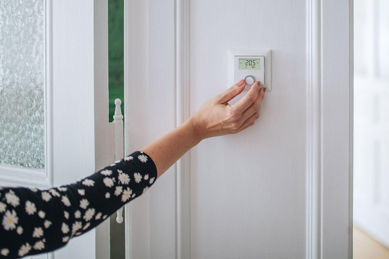Das Smart Home zu Füßen: Wandthermostat von Bosch