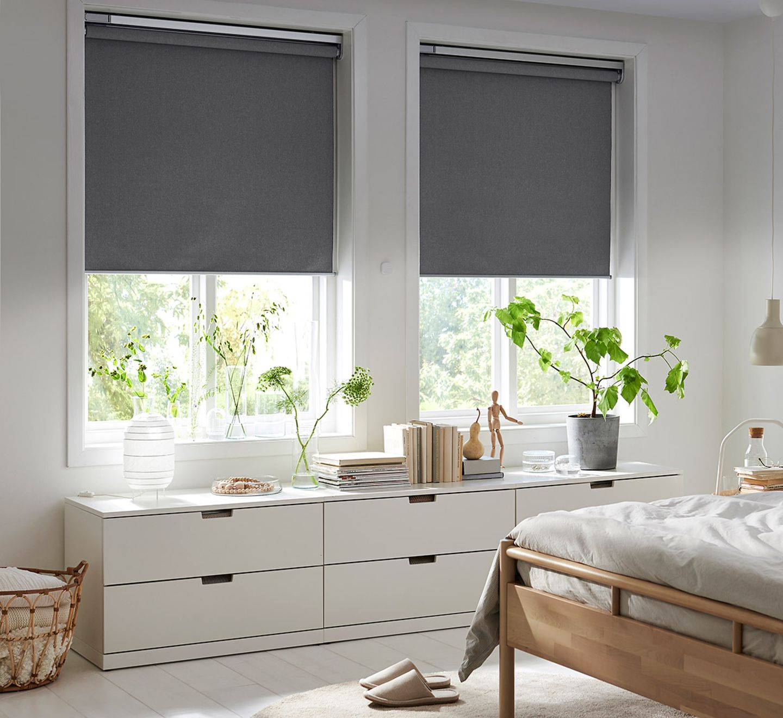 """Smart Home im Schlafzimmer: Rollo """"Fyrtur"""" von Ikea"""