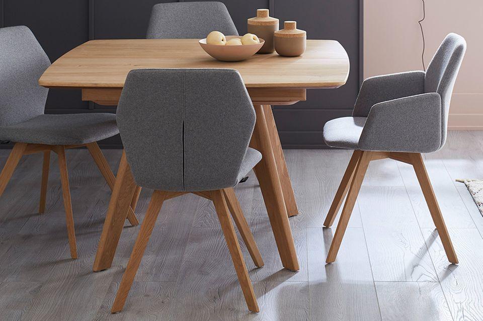Die neuen Stühle aus der SCHÖNER WOHNEN-Kollektion