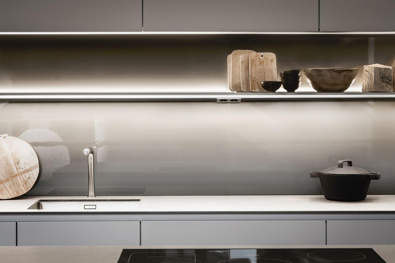Licht in der Küche - Leuchtenträger von Siematic