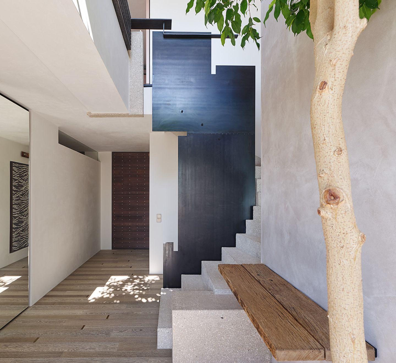Moderne Villa als Leistungsschau: Entree