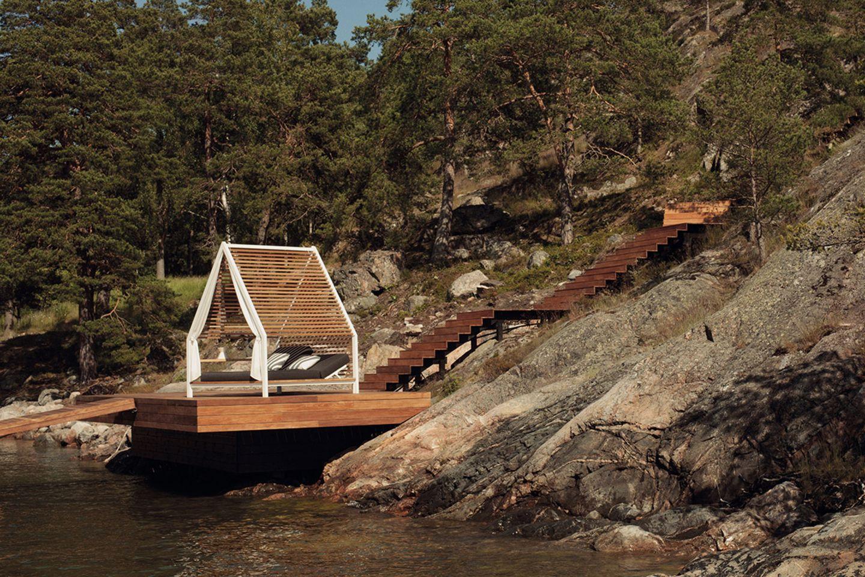 "Mini-Pavillon ""Cottage"" von Kettal"