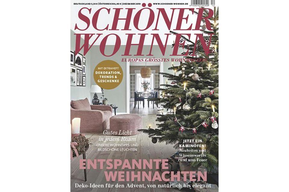 SCHÖNER WOHNEN 12-2019: Cover Sidebar