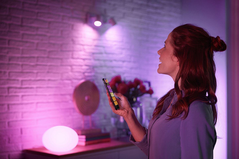 """Anwesenheitssimulation: Einstellungen in der App von """"Philips Hue"""""""