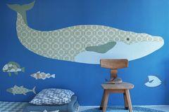 Wandtattoo mit Walmotiv fürs Kinderzimmer – von Inke.nl