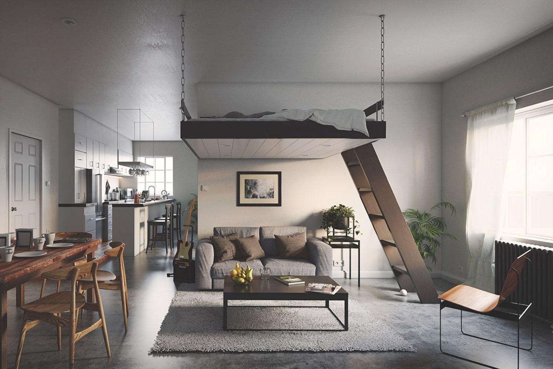 Hochbetten für Erwachsene von Caster Design