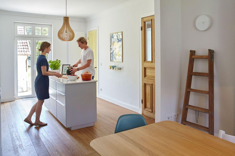 Doppelhaushälfte Kochbereich