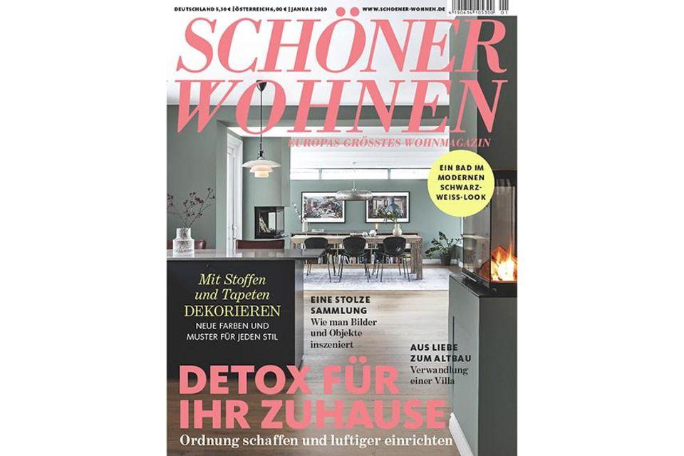 SCHÖNER WOHNEN 01-2020: Cover