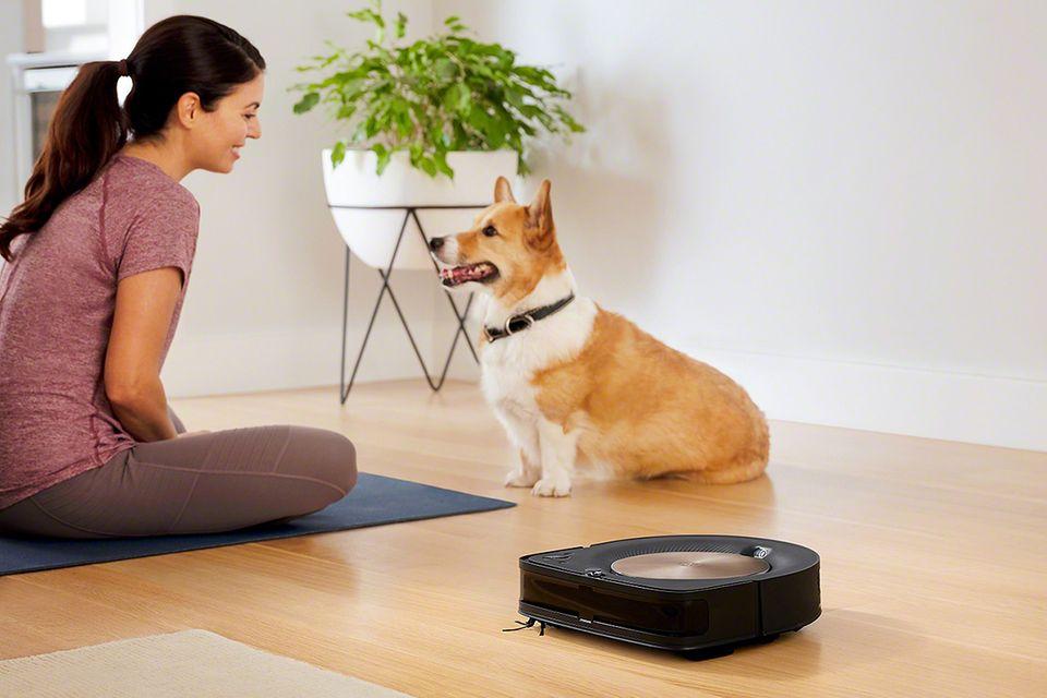 """Tierhaare sind auch für Saugroboter kein Problem. Im Bild: """"Roomba S9"""" von Irobot."""