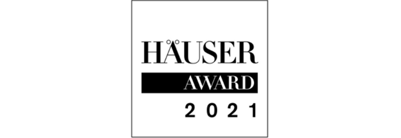 HÄUSER-AWARD 2021: Logo als Banner