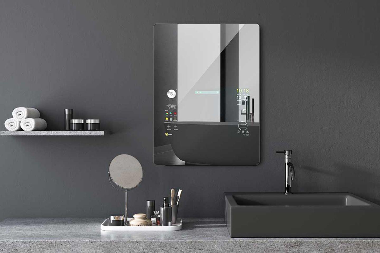"""Spiegel """"Smart Mirror"""" von Mues-Tec auf der imm2020"""