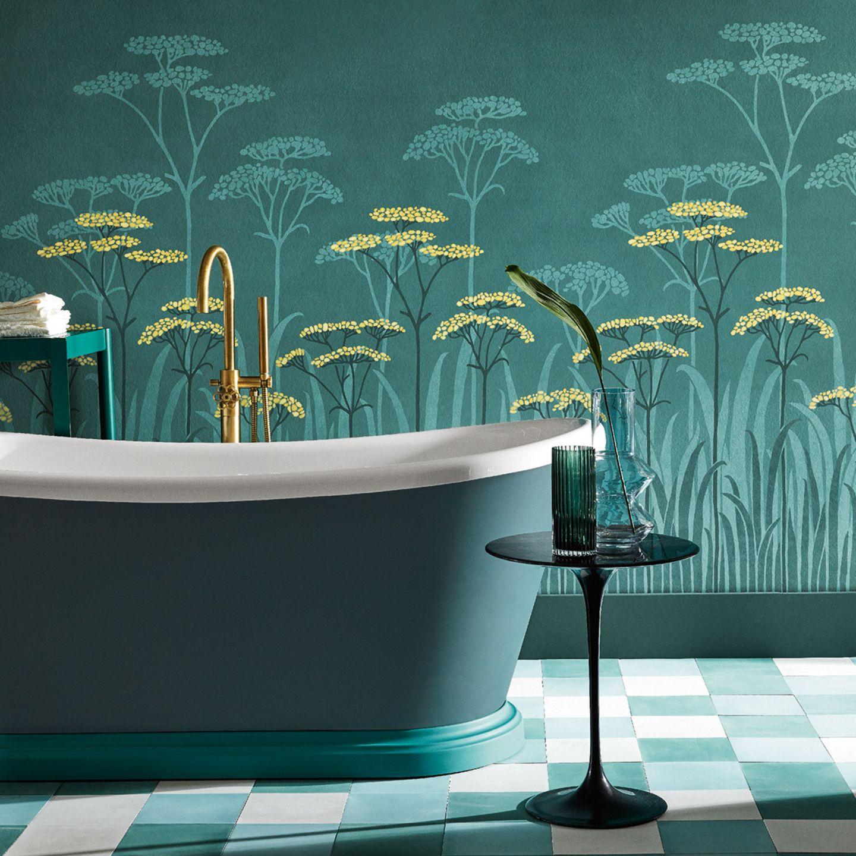 Badezimmer Tapeten fürs Bad   [SCHÖNER WOHNEN]