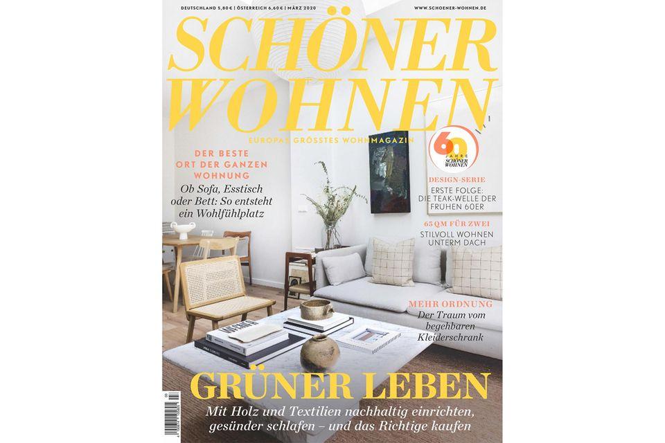 Blick ins Heft: SCHÖNER WOHNEN 03/2020