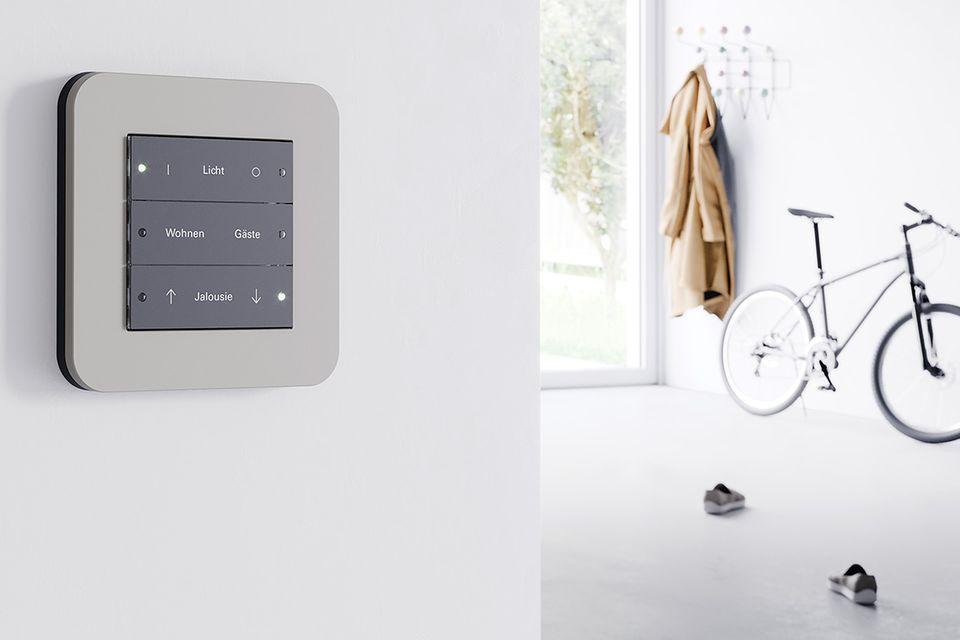 """KNX-Tastsensor im Smart Home: """"E3"""" von Gira"""