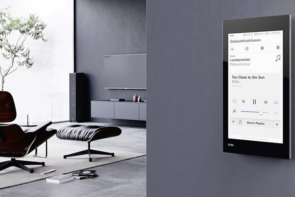 """""""G1"""" - Smart-Home-Display von Gira"""