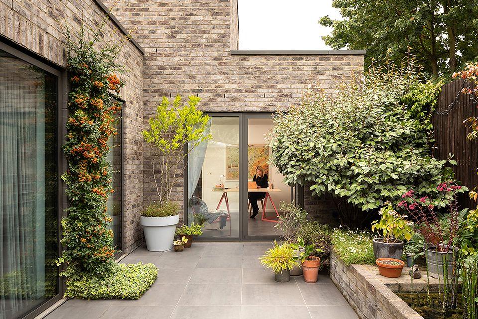 Londoner Stadhause mit Hofgarten