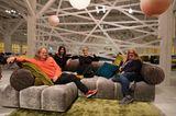 Familie Bretz, Designerinnen, Sofa Ed