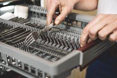 Geschirrspülmaschine mit Besteckschublade von Neff