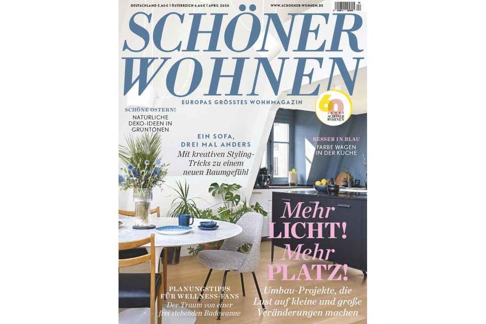 SCHÖNER WOHNEN 04-2020: Inhalt