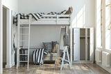 Hochbett - kleines Schlafzimmer