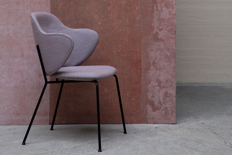 """""""Lassen Chair"""" von ByLassen in mauve"""