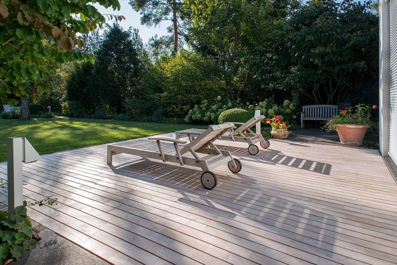 Terrassendielen aus Teak von Betterwood