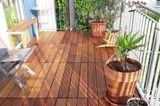 Cumaru-Elemente für Terrasse und Balkon von Betterwood