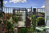 Kräutergewächshaus für den Balkon von Juliana