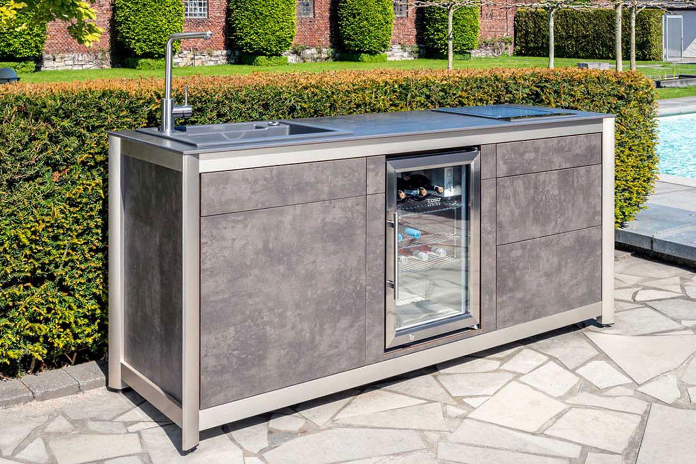 Outdoor-Küchenzeile von Wesco