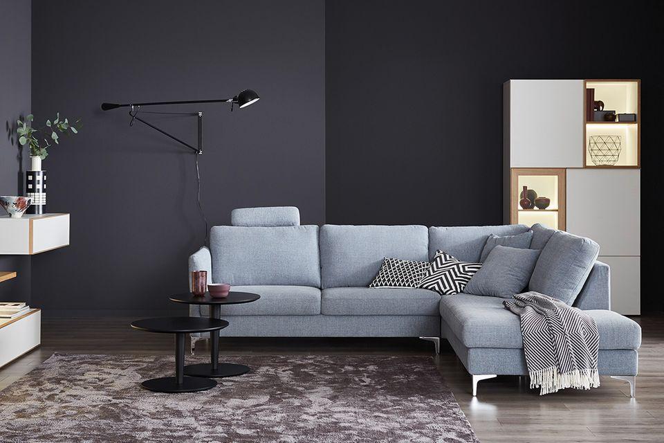"""Sofa """"Timeless"""" aus der SCHÖNER WOHNEN-Kollektion in Grau"""