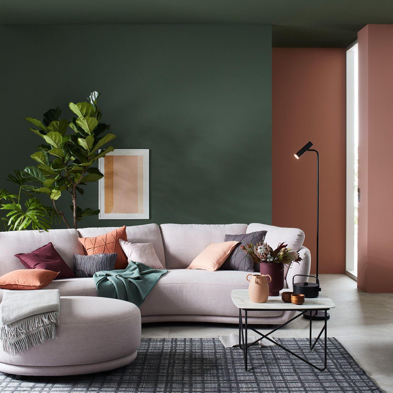 """SCHÖNER WOHNEN-Kollektion: Designfarbe """"Waldgrün"""""""