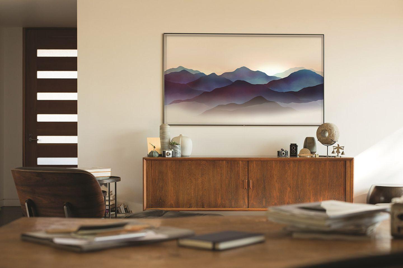 """Den Fernseher verstecken – mit dem """"Ambient Modus"""" bei sämtlichen QLED-TVs von Samsung"""