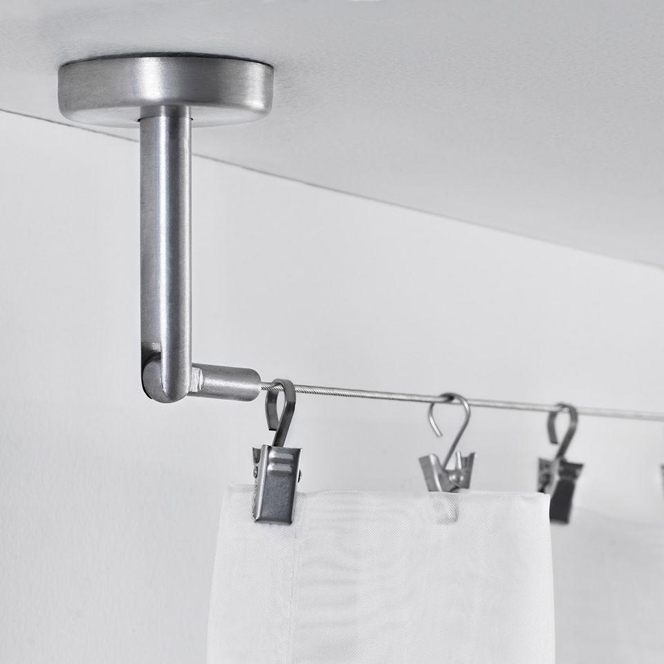 """Seilsystem """"Dignitet"""" aus Edelstahl von Ikea"""