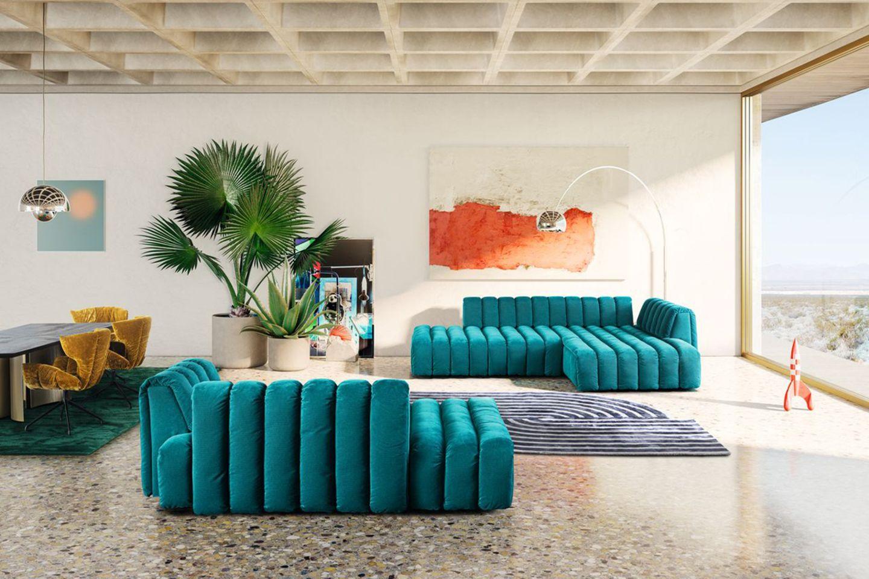 "Sofa ""Moonraft"" von Bretz"