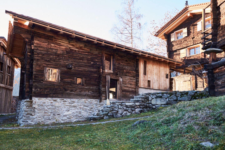 Ferien im Baudenkmal: Huberhaus in Bellwald