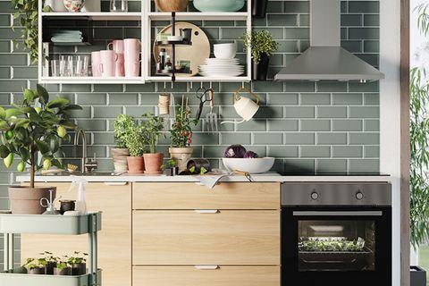 """Ikea-Katalog 2021: Küchensystem """"Enhet"""""""