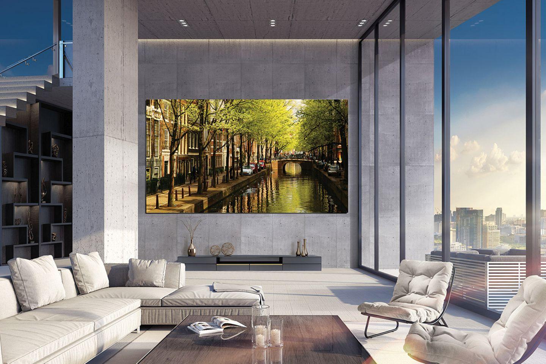 """Luxuriöser Riesen-Fernseher: """"The Wall"""" von Samsung"""
