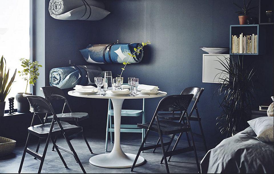 Ikea hack - aus einem Esstisch wird ein Lounge-Tisch