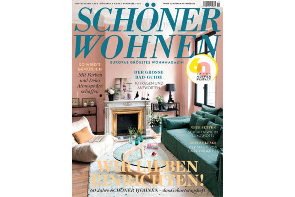 SCHÖNER WOHNEN 11-2020: Inhalt