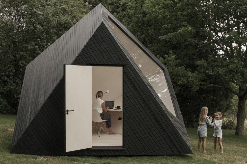 """Der """"Koto Workspace"""" macht das Garten-Office zum architektonischen Ereignis."""
