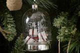 Glockenförmige Christbaumkugel aus Glas von Riviera Maison