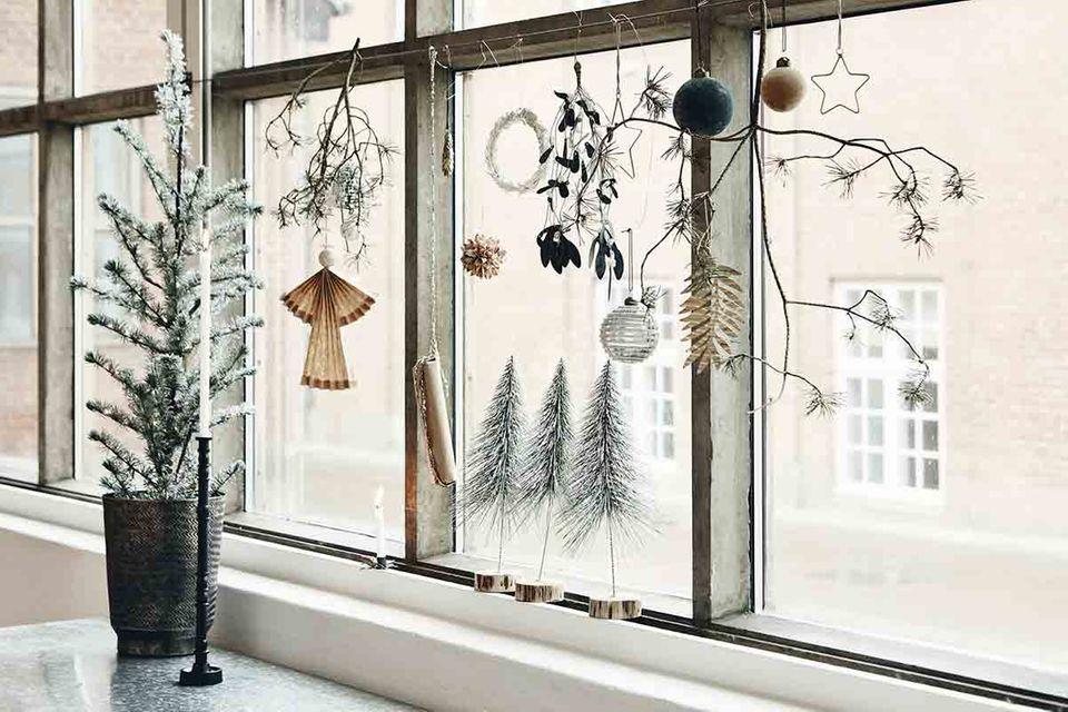 Weihnachtsdeko fürs Fenster von House Doctor