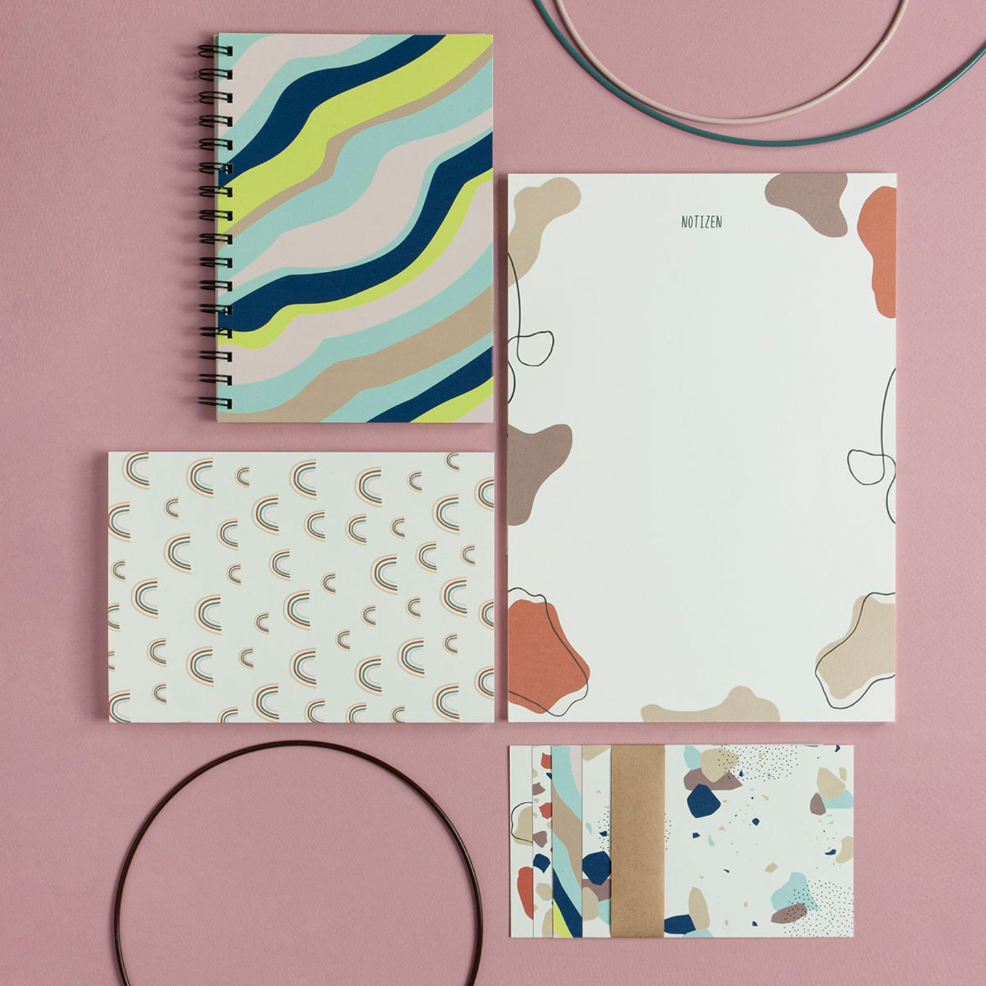 """Papeterie-Set """"Mindful Me"""" von COUCH Paperlove"""