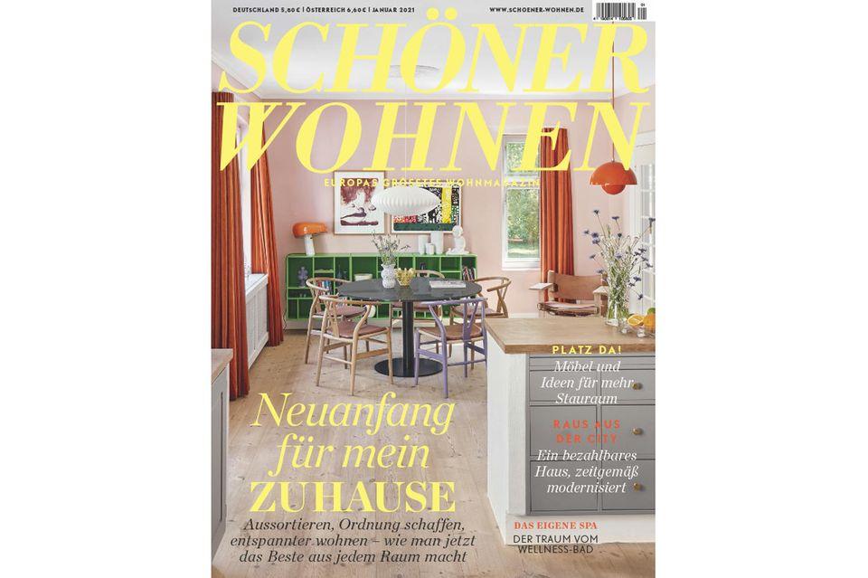 SCHÖNER WOHNEN 01-2021: Inhalt