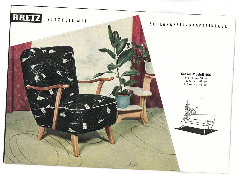 Sessel im 50er Jahre-Look